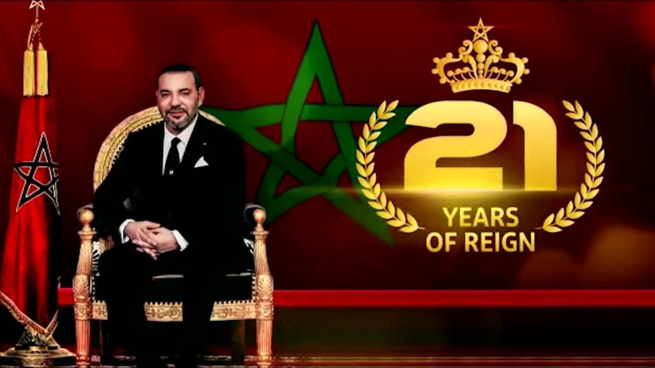 21st anniversary of the accession to the throne of His Majesty King Mohammed VI The Embassy of Morocco in Pretoria celebrates the 21st anniversary of the accession to the throne of His Majesty King Mohammed VI - Embassy of Morocco in South Africa